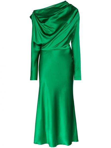 Платье миди на молнии со складками Matériel