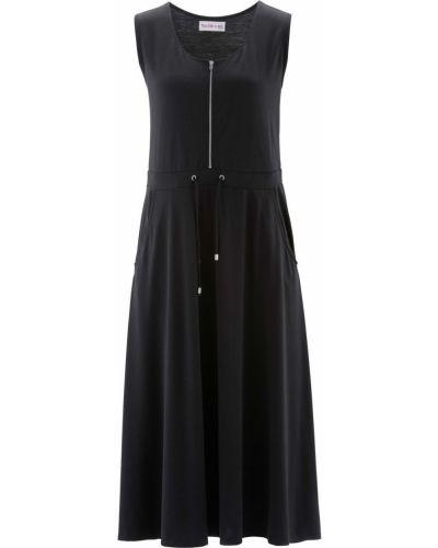 Платье на молнии с карманами Bonprix