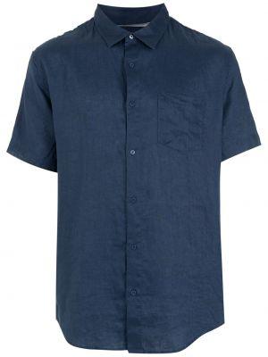 Niebieska koszula krótki rękaw Osklen