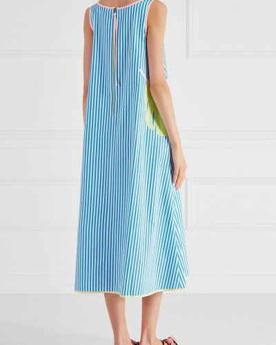 Платье со вставками Mira Mikati