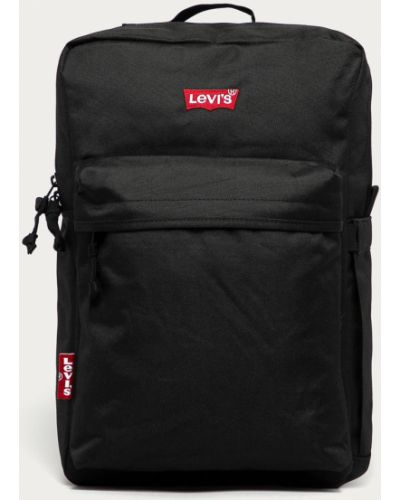 Czarny plecak na laptopa Levi's