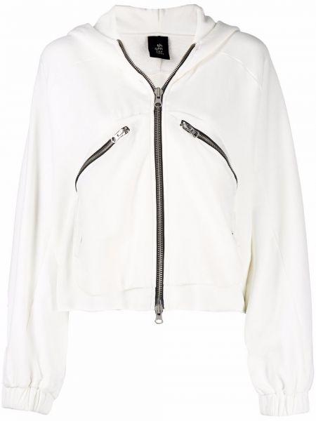 Белая длинная куртка Thom Krom