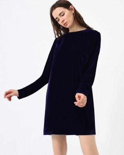 Платье осеннее фиолетовый Lime