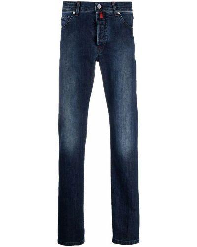 Niebieskie mom jeans Kiton