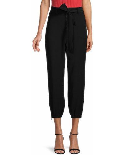 Czarne spodnie z paskiem Bailey 44