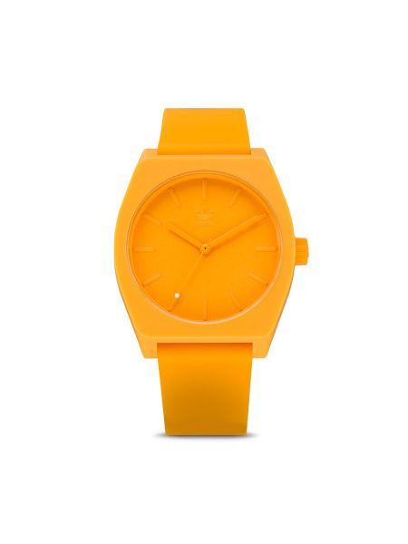 Złoty zegarek - żółty Adidas