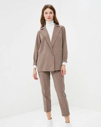 Брючный костюм коричневый Nastasia Sabio