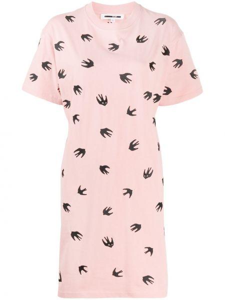 Платье рубашка - черное Mcq Alexander Mcqueen