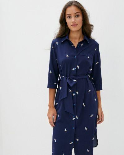 Синее платье Doroteya