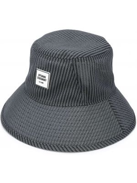 Czarny kapelusz z siateczką Opening Ceremony