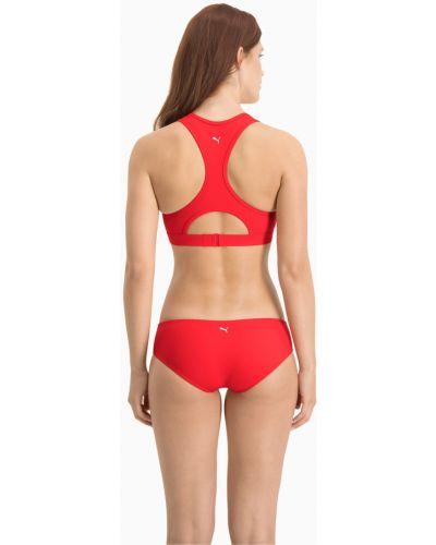Красный пляжный плавки Puma