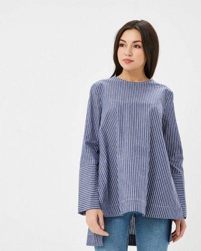 Синяя блузка Sweewe