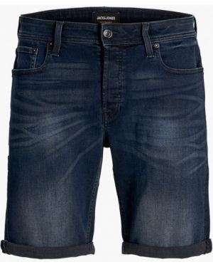 Синие джинсовые шорты Jack & Jones