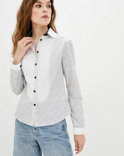 Серая рубашка с длинным рукавом Dolcedonna