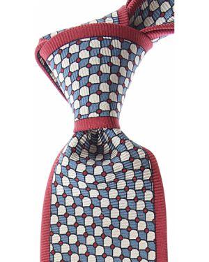 Zielony krawat z jedwabiu Mila Schon
