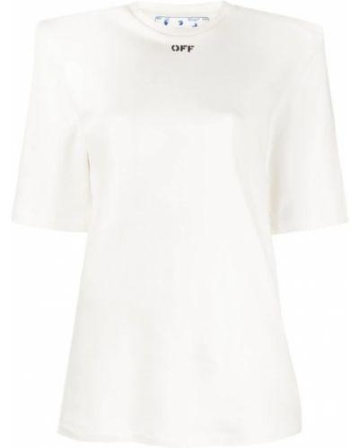 Bawełna bawełna podkoszulek Off-white