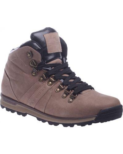 Ботинки из нубука - коричневые Lumberjack