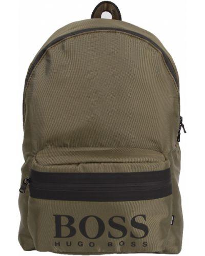 Зеленый рюкзак Hugo Boss