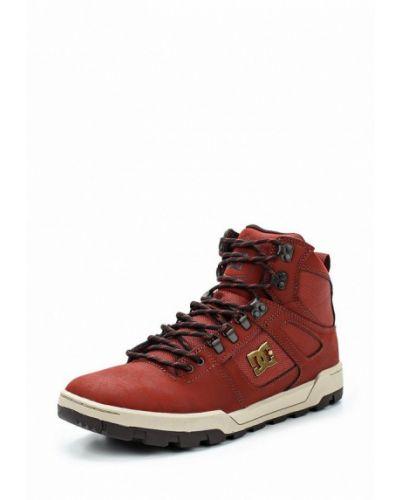 Кожаные высокие кроссовки Dc Shoes
