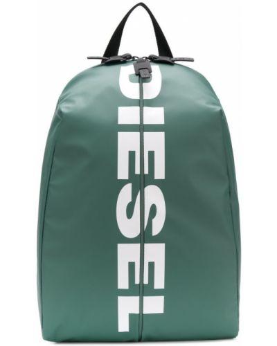 Рюкзак на молнии с принтом Diesel