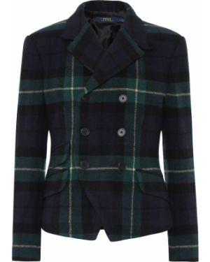 Пиджак шерстяной синий Polo Ralph Lauren