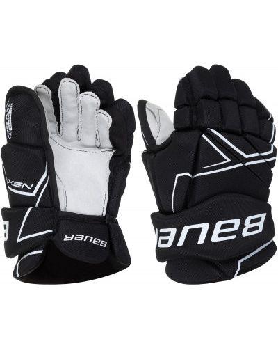 Черные перчатки бауэр