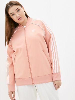 Оранжевая зимняя толстовка Adidas Originals
