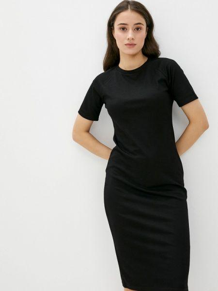 Платье футболка черное Incity