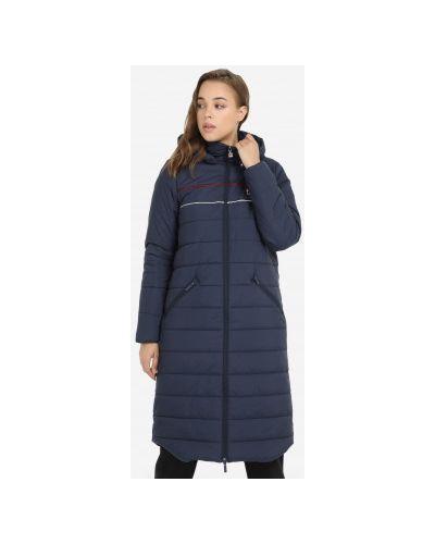 Утепленная куртка - синяя Fila