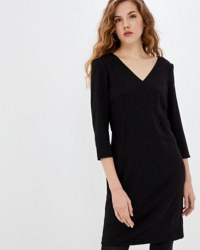 Черное платье-футляр Naf Naf