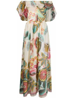 Платье мини миди с открытыми плечами Redvalentino