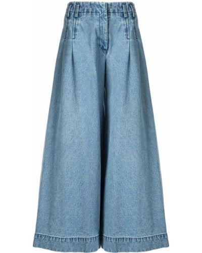 Широкие джинсы с поясом Pony Stone