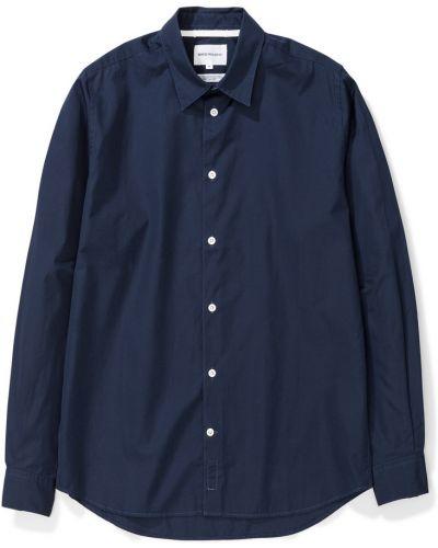 Klasyczna koszula - niebieska Norse Projects