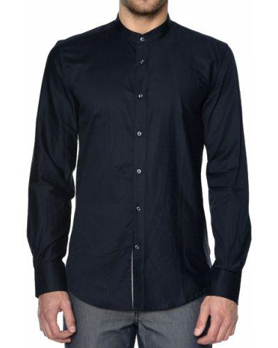 Рубашка хлопковая черная Antony Morato