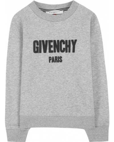 Свитер с логотипом хлопковый Givenchy