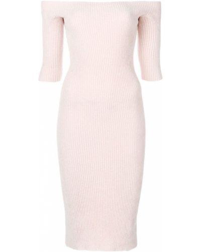 Платье мини розовое миди Helmut Lang