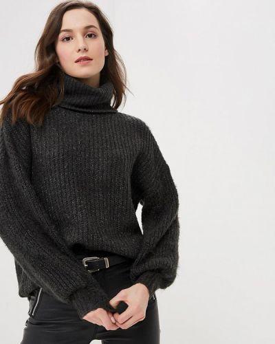 Серый свитер осенний Noisy May