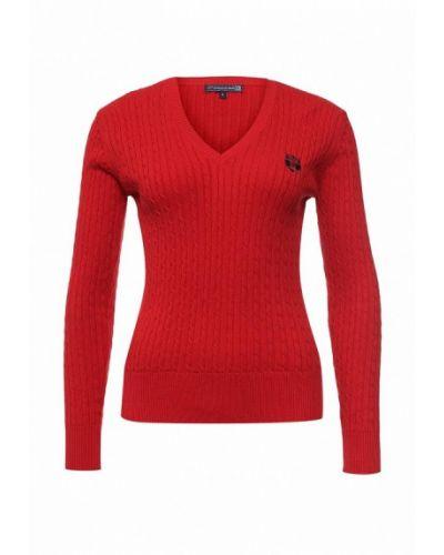 Пуловер турецкий красный Giorgio Di Mare
