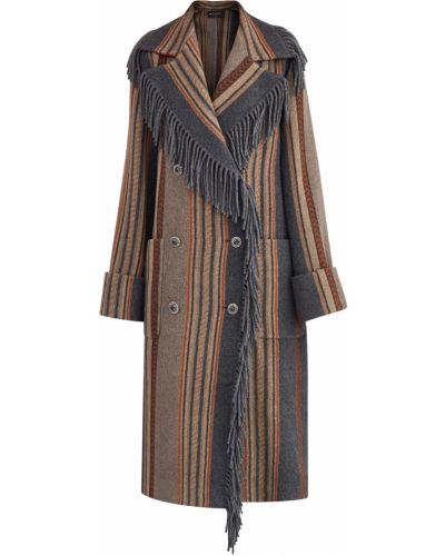 Пальто прямое свободное Etro