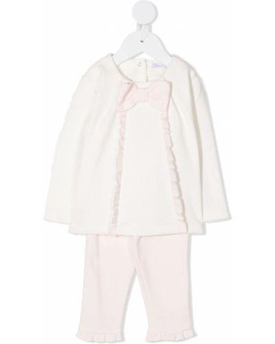 С рукавами костюмный розовый спортивный костюм с поясом Patachou