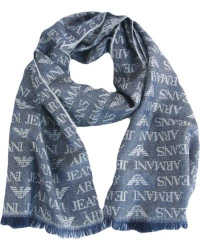 Шарф серый Armani Jeans