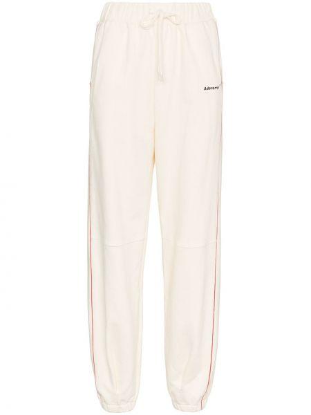 Spodnie bawełniane - beżowe Ader Error