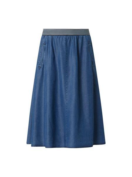 Spódnica jeansowa - niebieska More & More