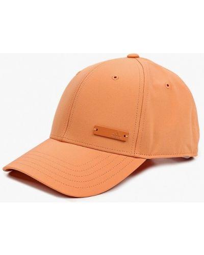 Оранжевая бейсболка Adidas