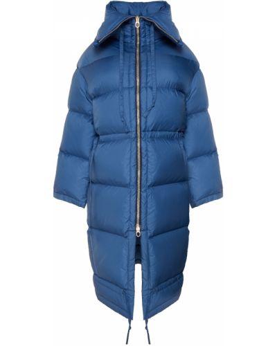 Пальто с капюшоном стеганое на молнии Acne Studios