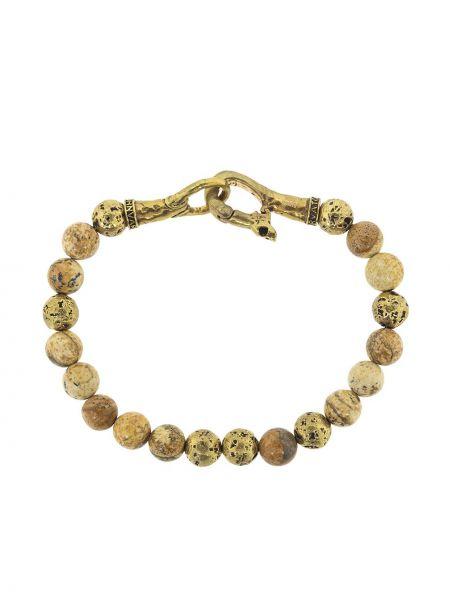 Złota bransoletka ze złota John Varvatos
