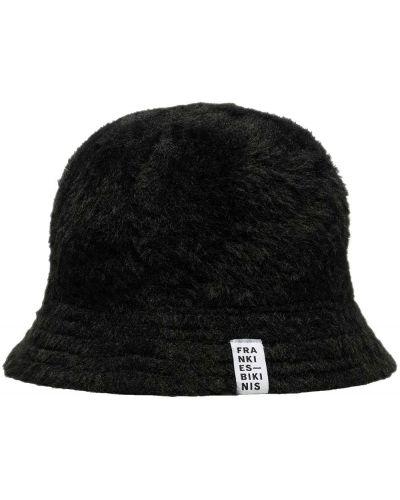 Хлопковая шапка - черная Frankies Bikinis