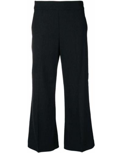 Свободные брюки с завышенной талией укороченные Pinko