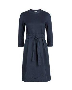 Деловое платье синее Peserico
