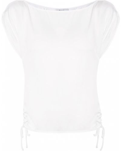 Белая блузка прямая Milly